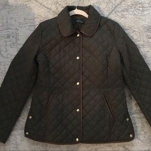 Lauren Ralph Lauren Quilted Green Jacket